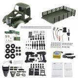 JJRC Q60 Kit 1/16 2.4G 6WD Off-Road Military Truck Crawler Remote Control Car