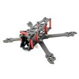 AlfaRC Fighter140 140mm 3mm/4mm Arm Frame Kit 3K Carbon Fiber for RC Drone FPV Racing