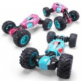 1PC ZhengFei Toys 8850 2.4G 4WD 20km/h Double Sided Stunt Rc Car Deformation Climbing Off-road Truck
