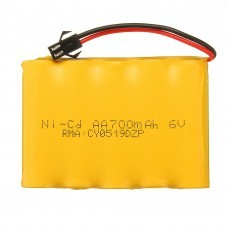 JJRC 6V 700mAh 5C Ni-cd Battery SM Plug for Q63 Q64 1/16 2.4G 6WD Rc Car