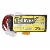 Gens Tattu 22.2V 1300mAh 95C 6S Lipo Battery XT60 Plug for FPV RC Racing Drone