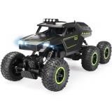 JJRC D824 1/12 2.4G 6WD Rc Car Green Color Off-road Climbing Truck Crawler w/ HeadLight RTR Toys