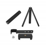 3in1 Phone Fixing Clamp Clip Holder Mini Desktop Tripod & Extended Selfie Stick Rod for DJI OSMO POCKET Handheld Camera Gimbal
