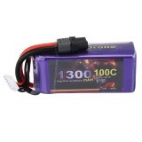 MY Red Beret 14.8V 1300mAh 100C 4S Lipo Battery XT60 Plug for Eachine Tyro99 RC Drone