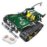13025/26 2.4G Suspension Vehicle Building Block Kits Tracked Remote Control Car DIY Bricks Toys 626Pcs