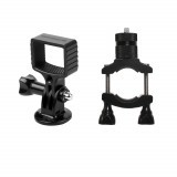 Sunnylife OSMO Pocket Gimbal Expansion Bracket with Bicycle Clamp Motorcycle Holder Aluminium Alloy Version Adatper Mount Accessories for DJI
