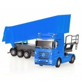 RUICHUANG QY1101C 1/32 2.4G 6CH Rc Car Dump Truck Electric Mercedes RTR Model