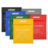URUAV Waterproof Explosion Proof Colorful Lipo Battery Safety Bag 30X23mm