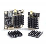 1 Piece AKK Black Aluminum Heatsink Kit For AKK X2-ultimat.e / FX2-ultimat.e / X2 / X2P / FX2 / TX1200 FPV Transmitter