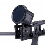 iFlight 3D Printed TPU Camera Mount 30 Degree for GoPro Session w/ ND 52mm Lens Filter for RC Drone