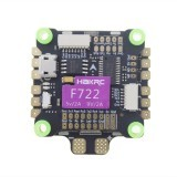 HAKRC Flytower F722 30.5x30.5mm BEC 5V/2A 9V/2A Flight Controller & 50A 4IN1 3-6S ESC for RC Drone