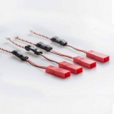 AKK 7V-24V to 5V Voltage Step Down Regulator 4pcs Compatible for AKK X5 FPV Transmitter VTX