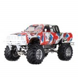 New Shell HG P407 1/10 2.4G 4WD Remote Control Car for TOYATO Metal 4X4 Pickup Truck RTR Crawler