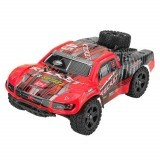 REMO 1625 1/16 2.4G 4WD Waterproof Brushless Off Road Monster Truck Remote Control Car Vehicle Models Red