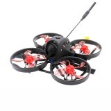 HBFPV XF40-GT 77mm 2-3S Whoop FPV Racing Drone F4 FC OSD 12A Blheli_S ESC EOS2 Cam 200mW VTX