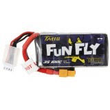 TATTU FUNFLY 11.1V 1300mAh 100C 3S Lipo Battery XT60 Plug for Emax Nighthawk 250