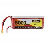 ZOP Power 11.1V 5000mAh 100C 3S Lipo Battery XT60 Plug for RC Drone Car Airplane