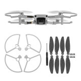 4726F Carbon Fiber Foldable Propeller Blade Set with Props Guard Protection Cover for DJI Mavic Mini RC Drone