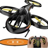 SYMA TF1001 Helifury 360 Altitude Hold Mode 3D Flips LED RC Drone Drone RTF with Landing Pad