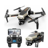 Funsky X1 Pro 5G WIFI FPV With 4K Wide-angle Camera 2-Axis Mechanical Stabilization Gimbal Optical Flow Positioning RC Drone