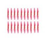 10 Pairs iFlight Nazgul T3020 3020 3X2 3 Inch 2-Blade Durable Propeller CW & CCW Transparent Red for Toothpick RC Drone FPV Racing