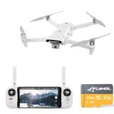 FIMI X8 SE 2020 Drone with 64GB 160MB/s TF Card 8KM FPV With 3-axis Gimbal 4K Camera HDR Video GPS 35mins Flight Time RC Drone RTF One Battery Version - No FIMI Premium Care