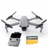 DJI Mavic Air 2 10KM 1080P FPV with 4K 60fps Camera 3-axis Gimbal 8K Hyperlapse 34mins Flight Time RC Drone Drone With 64GB 160MB/s TF Card- Mavic Air 2 Fly More Combo
