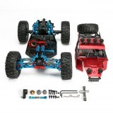 Feiyue M100A 1/12 Metal Upgraded Remote Control Frame Car Vehicles without Motor ESC Servo Battery TX RX