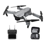 Topacc T58 WIFI FPV with 1080P Camera 90° Ajustable Lens Headless Mode Foldable RC Drone Drone RTF