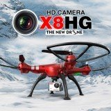 Syma X8HG With 8MP HD Camera Altitude Hold Mode 2.4G 4CH 6Axis RC Drone RTF