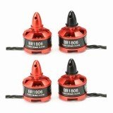 4X Racerstar Racing Edition 1806 BR1806 2280KV 1-3S Brushless Motor CW/CCW For 250 260 RC Multirotor