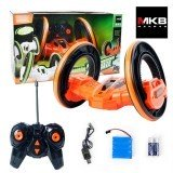 MKB Remote Control LED High-speed Space Stunt Car Anti-wrestling 360 Degree Rotating Rolling 4 Wheel Vehicles