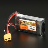 ZOP Power 7.4V 1100mAh 65C 2S Lipo Battery XT60 Plug