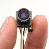 600TVL 1.8mm 1/4 CMOS 120 Degree Wide Angle Lens FPV Camera PAL/NTSC 3.7-5V