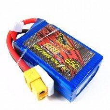 Giant Power Dinogy 600mAh 14.8V 4S 65C LiPo Battery With XT60 Plug For RC Airplane