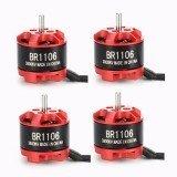 4X Racerstar Racing Edition 1106 BR1106 3800KV 1-3S Brushless Motor For 100 120 150 RC Multirotor