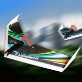 DW HOBBY Upgraded Rainbow Ⅱ 1000mm Wingspan EPP Flying Wing RC Airplane KIT