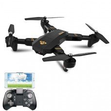 VISUO XS809HW WIFI FPV With Wide Angle HD Camera High Hold Mode Foldable Arm RC Drone RTF