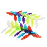 10 Pairs Racerstar FishBone V2 5041 3 Blade Racing Propeller 5.0mm Mounting Hole for Racing Frame