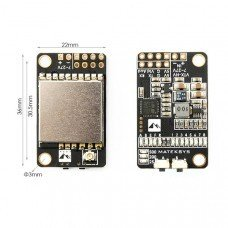 Matek 5.8G 40CH 25/200/500mW switchable Video Transmitter VTX-HV with 5V/1A BEC Output