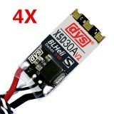 4X DYS XSD 30A 3-5S ESC V2 BLHeli_S Supports Dshot600 Dshot300 For High KV Motors