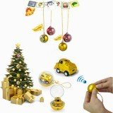 LongSun 1/128 CC-301 Christmas Ball Shape Mini Remote Control Car Toy Gift Decor