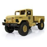 WPL WPLB-1 1/16 2.4G 4WD Remote Control Crawler Off Road Car With Light RTR