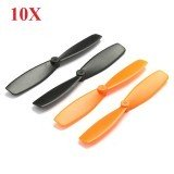 10X Walkera QR Ladybird Blades Propellers for QX90 QX105 QX95 QX100 Hubsan X4 DIY Micro Drone