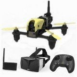 Hubsan H122D X4 STORM 5.8G FPV Micro Racing Drone Drone With 720P Camera HV002 Googles