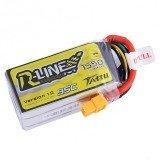 Tattu R-Line 14.8V 1550mAh 95C 4S XT60 Plug Lipo Battery