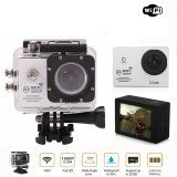 Ausek 1080P 30fps 16MP Full HD Sports Action Camera With HDMI 2 Inch LCD Built in 900mAh Battery