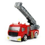 Coke Can Shenqiwei 8027 1:58 Aerial Ladder Fire-Truck Remote Control Car Mini 4 Channel