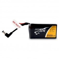 TATTU 2500mAh 2S1P 7.4V LiPo Battery DC3.5mm For Fatsahrk Aomway Skyzone Eachine Goggles