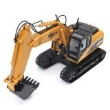 2.4G 15 Channel 15CH Remote Control Excavator Fork Construction & Remote Control Toy Gifts